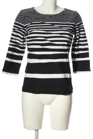 Gerry Weber Stripe Shirt black-white striped pattern casual look