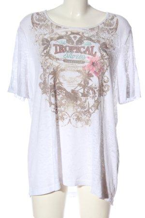 Gerry Weber Geribd shirt prints met een thema casual uitstraling