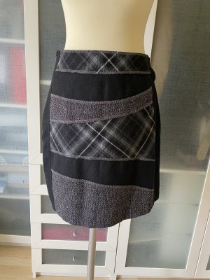 Gerry Weber Wool Skirt black-dark grey