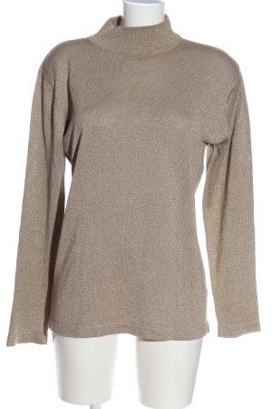 Gerry Weber Turtleneck Sweater cream flecked casual look