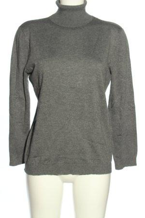 Gerry Weber Turtleneck Sweater light grey flecked casual look