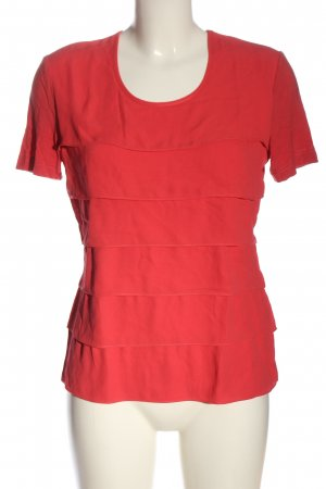 Gerry Weber Ruffled Blouse red casual look