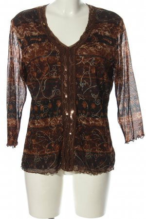 Gerry Weber Schlupf-Bluse Mustermix Casual-Look