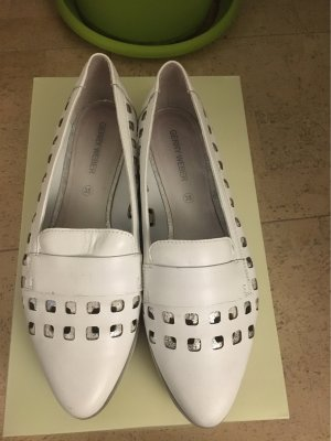 Gerry Weber Slip-on Shoes white leather