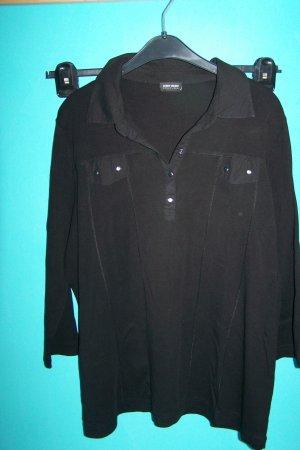 Gerry Weber V-Neck Shirt black cotton