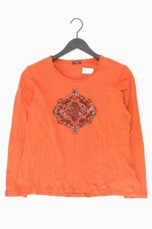 Gerry Weber Shirt Größe 44 orange aus Baumwolle