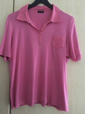 Gerry Weber Short Sleeve Shirt pink cotton