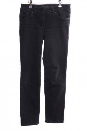 Gerry Weber Slim Jeans schwarz Casual-Look