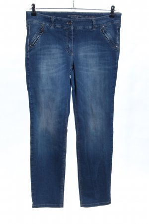 Gerry Weber Slim Jeans blau Casual-Look