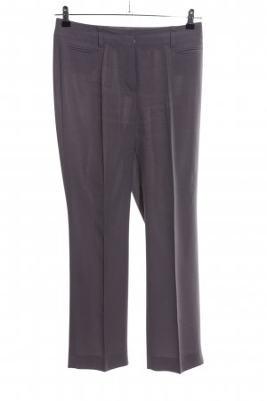Gerry Weber Stoffhose hellgrau Business-Look