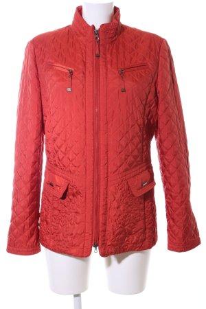 Gerry Weber Gewatteerd jack rood quilten patroon casual uitstraling