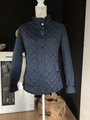 Gerry Weber Quilted Jacket dark blue viscose