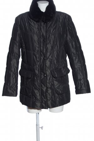 Gerry Weber Quilted Jacket black quilting pattern casual look