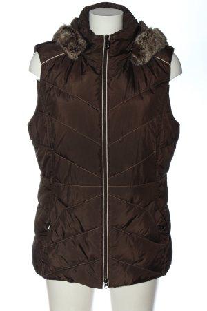 Gerry Weber Steppweste bronzefarben Steppmuster Elegant