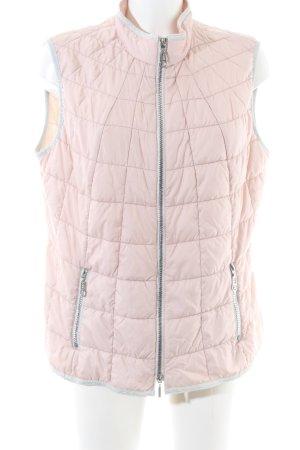 Gerry Weber Steppweste pink Steppmuster Casual-Look