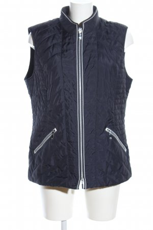 Gerry Weber Quilted Gilet blue quilting pattern casual look