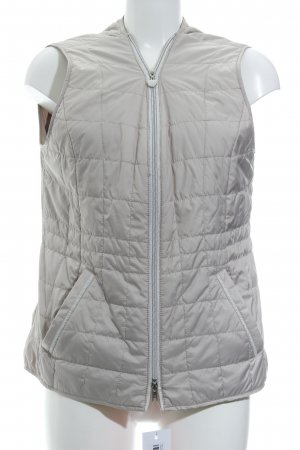 Gerry Weber Steppweste creme Steppmuster Casual-Look