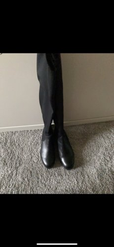 Gerry Weber Botas sobre la rodilla negro