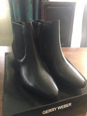 Gerry Weber Stiefeletten schwarz mit Reißverschluss Größe 38