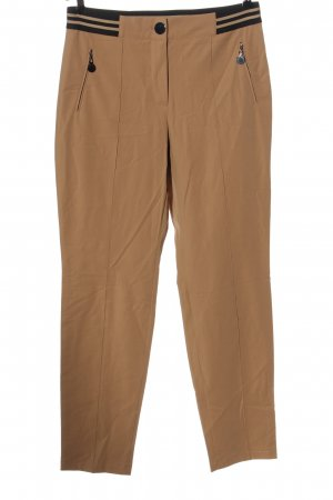 Gerry Weber Jersey Pants brown business style