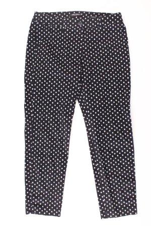 Gerry Weber Straight Jeans Größe 38 gepunktet schwarz
