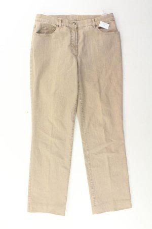 Gerry Weber Straight Jeans Größe 40 braun aus Baumwolle