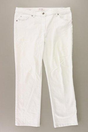 Gerry Weber Jeansy z prostymi nogawkami w kolorze białej wełny Bawełna