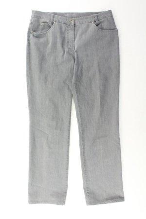 Gerry Weber Straight Jeans Größe 42 grau aus Baumwolle
