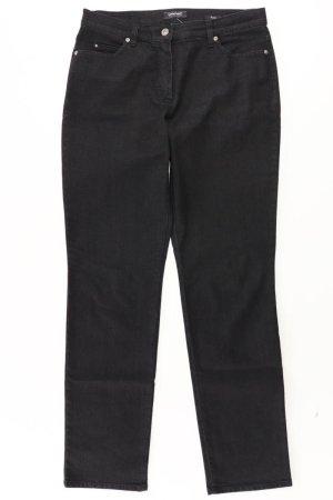 Gerry Weber Jeansy z prostymi nogawkami czarny Bawełna