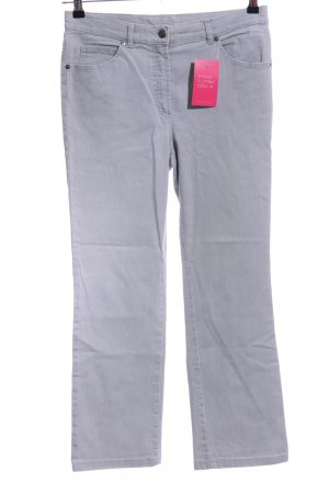 Gerry Weber Straight-Leg Jeans hellgrau Casual-Look