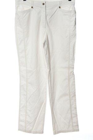 Gerry Weber Jeansy z prostymi nogawkami biały W stylu casual
