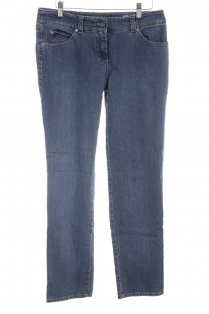 Gerry Weber Straight-Leg Jeans blau Street-Fashion-Look