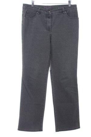 Gerry Weber Jeansy z prostymi nogawkami ciemnoszary-szary W stylu casual