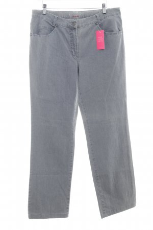 Gerry Weber Straight-Leg Jeans grau Casual-Look