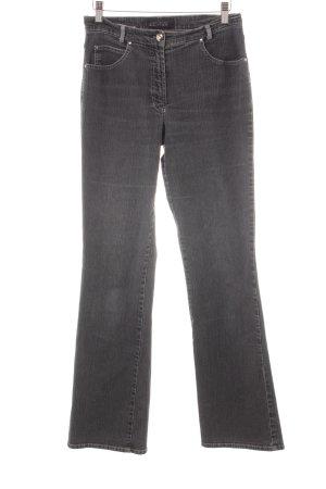 Gerry Weber Jeansy z prostymi nogawkami szary-jasnoszary Melanżowy
