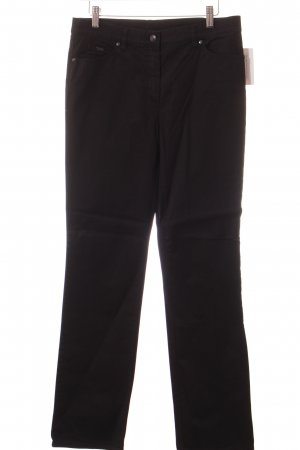 Gerry Weber Straight-Leg Jeans schwarz Casual-Look
