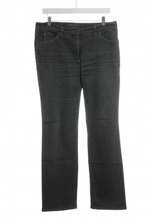 Gerry Weber Straight-Leg Jeans schwarz-grau Street-Fashion-Look