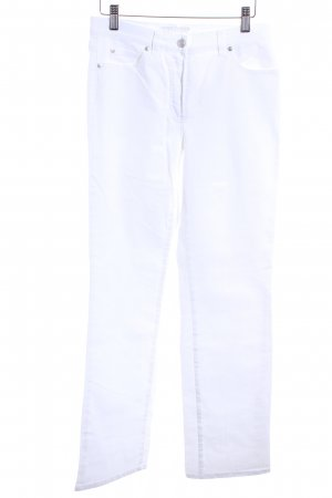 Gerry Weber Straight-Leg Jeans weiß Casual-Look