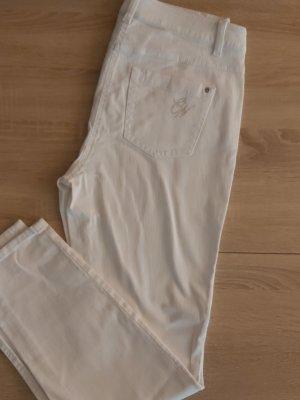 G.W. Stretch Jeans white