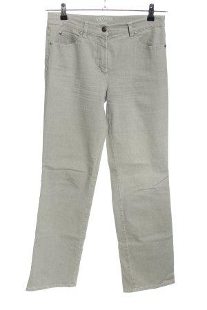 Gerry Weber Jeans stretch gris clair style décontracté