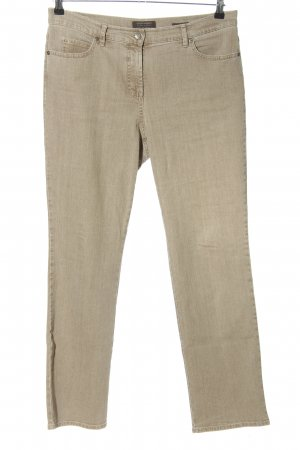 Gerry Weber Jeans stretch blanc cassé style décontracté