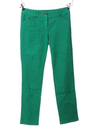 Gerry Weber Stretchhose grün Casual-Look