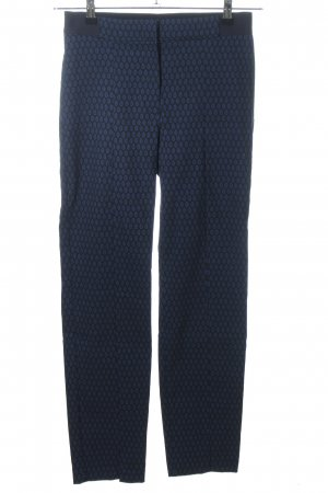 Gerry Weber Stretch Trousers black allover print casual look