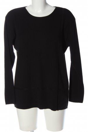 Gerry Weber Strickpullover schwarz Casual-Look