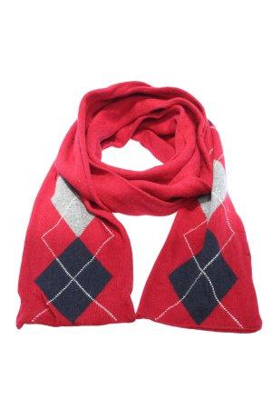 Gerry Weber Gebreide sjaal geruite print casual uitstraling