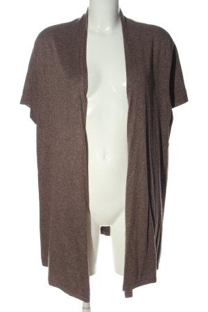 Gerry Weber Gilet tricoté brun style décontracté