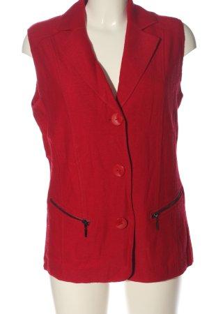 Gerry Weber Długa dzianinowa kamizelka czerwony W stylu casual