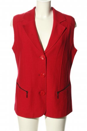 Gerry Weber Strickweste rot Casual-Look