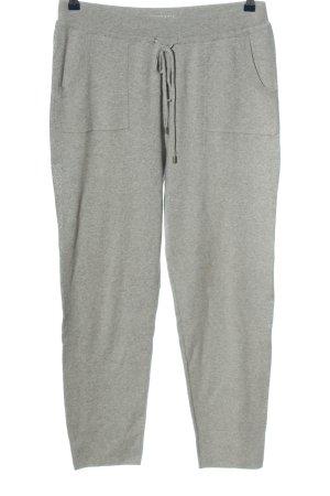 Gerry Weber Pantalon de jogging gris clair moucheté style décontracté