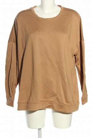 Gerry Weber Sweatshirt braun Casual-Look